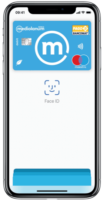 Apple Pay collegata a Selfyconto